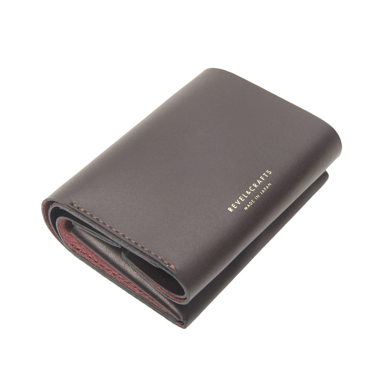2.5折コンパクト財布 - MINI 2 バーガンディ