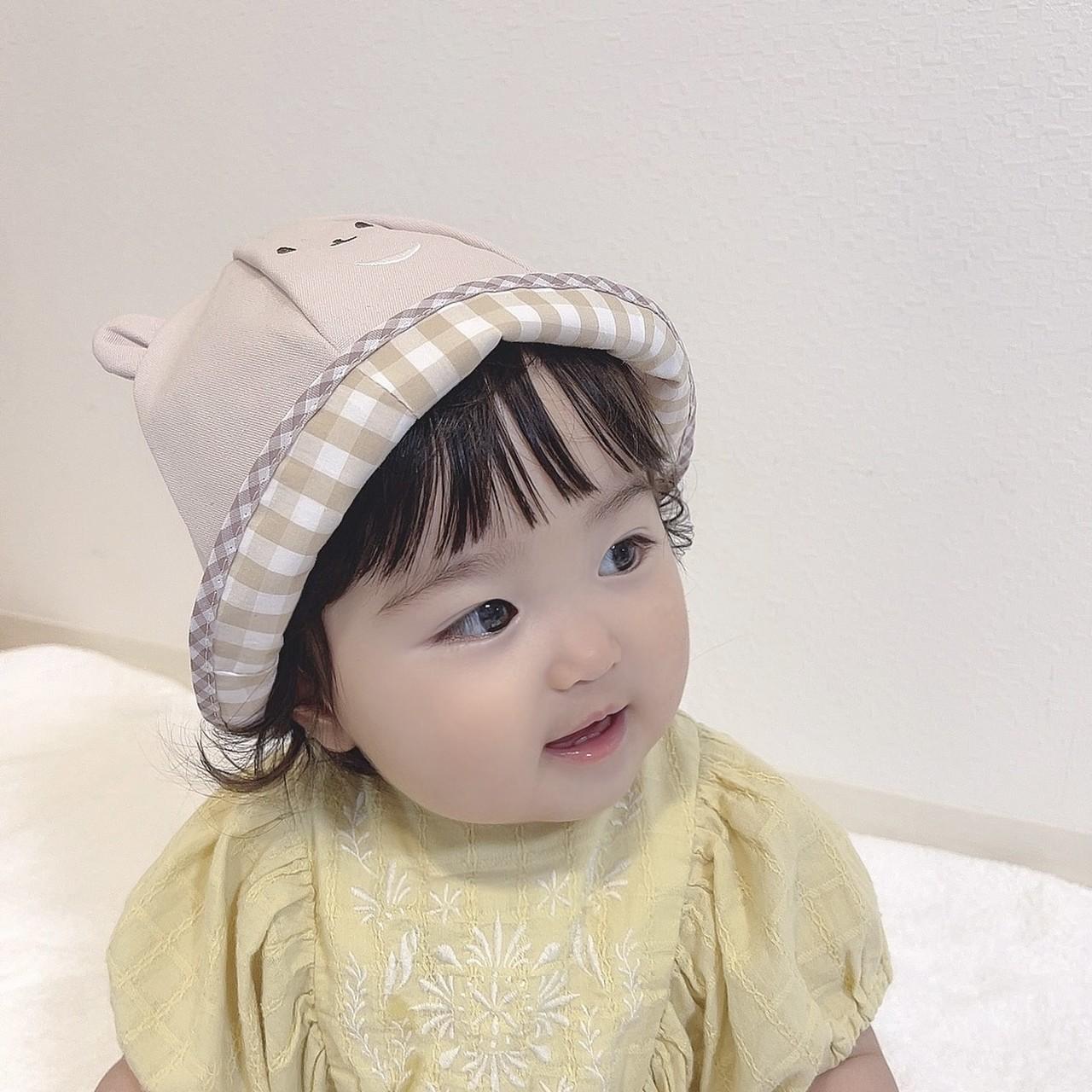 つみきのおさんぽ帽子(baby)
