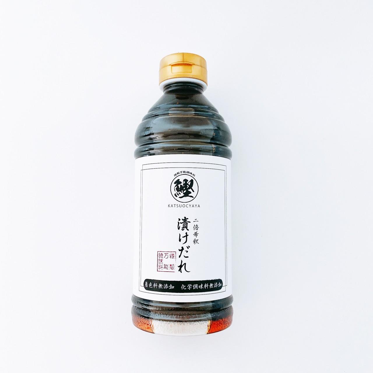 【和風万能だれ】かつお茶屋オリジナル:漬けだれ4本セット