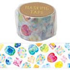 【 宝石 マスキングテープ 30mm】 ラッピング 手帳 マスキングテープ