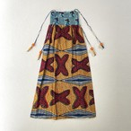 african batik | 2way long skirt (V4757A)
