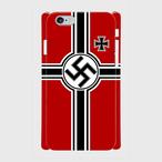 ドイツ国防海軍軍艦旗  iPhoneケース