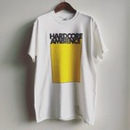 HARDCORE AMBIENCE T-shirt WHITE/YELLOW