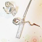 yumi様ご予約品 ハウスのネックレス&リング
