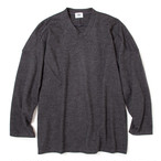 "Just Right ""Hockey Shirt Wool"" Grey"