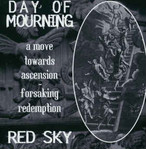 【USED】split / Day Of Mourning, Red Sky