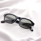 YY - 4 19 / rectangle glasses (black lens)