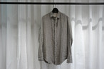 Marc Point / REGULAR COLLAR LINEN SHIRTS / TAUPE