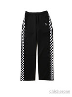 【SLEEPING TABLET】CHESS [ TRACK PANTS ] BLACK