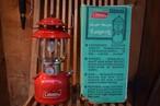 USED 美品 整備済み 78年製 USA製 コールマン 200A ランタン 箱付き 70s Coleman ビンテージ vintage