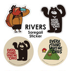 RIVERS SOREGAII STICKER
