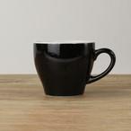 【SL-0001】 磁器 コーヒーカップ 黒