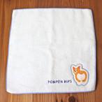 【POMPON HiPS】タオルハンカチ(コーギーのおしり)【94617】