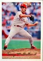 MLBカード 93UPPERDECK Terry Mulholland #279 PHILLIES