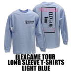 ELEXGAME TOUR LONG SLEEVE T-SHIRTS[LIGHT BLUE]