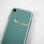 Duck Celadon ガラススマホケース
