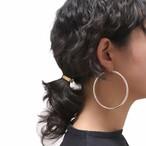 Silver925 Hoop Earrings M