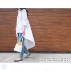 【予約受付2018.9.19~】アシンメトリーフレアシャツ|A04001