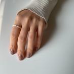 Silver925 mini pearl ring 0243