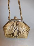 蛇皮ビィンテージバック python vintage bag (made in Japan)