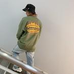 [即納]韓国ファッション ParagraphファイヤーロゴロンT