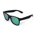 DANG SHADES LOCO RAISED Black Soft x Green Mirror Polarized(偏光レンズ)