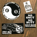 SMUT BUTT MAGAZINE STICKER PACK #04 by Gorgeous George