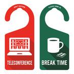 TELECONFERENCE(テレカンファレンス中)
