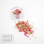 《桜吹雪》ペーパーホログラム レジン封入 ネイルフレーク  ガラスドーム