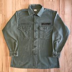 "US ARMY COTTON UTILITY LONG SLEEVE SHIRTS ""Size:15 1/2×31"""
