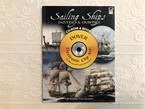 【VA257】Sailing Ships Paintings and Drawings CD-ROM and Book (Dover Electronic Clip Art)  /visual book