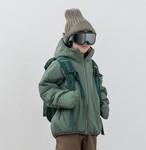 MOUN TEN. マウンテン air mitten blouson col.:ashgreen size:95~140