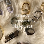 valance accessories happy set