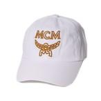486680684a977 MCM(エムシーエム) ロゴベースボールキャップ ホワイト r013460