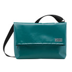 Shoulder A-Bag Medium Green