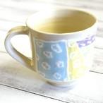 【モリーさん】カラフルマグカップ(四角柄)/マグカップ