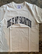 DOG IS MY SALVATION '20 / designed by Shutaro Watanabe  col:white