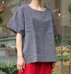 会津木綿袖付シャツ(+7cm丈) YAMMA ヤンマ産業