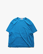 "EACHTIME. Pile T-Shirt  ""Big""  Blue"