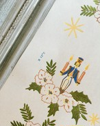 vintage Christmas wrappingpaper 8枚Set