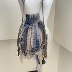 【sandglass】custom fringe drawstring bag / 【サンドグラス】カスタムフリンジ巾着