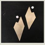 Heart  earring 1(pierce) HeE-1