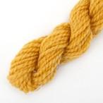 コリデール山吹色 ゲージ用糸サンプル (corri6)手紡ぎ毛糸オーダー(送料込)