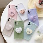 グリップ付き Love Heart iphone case