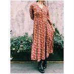 Vintage flower print dress
