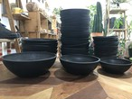 プラ鉢  浅型 ポットS / プラスチック ブラック  植木鉢