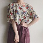 vintage silk design tops