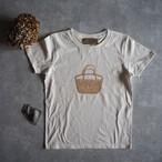 背伸びTシャツ バニラ 【レディース】 S、M