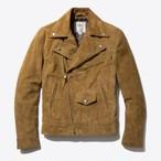 Motorcycle Jacket(Tan Suede)