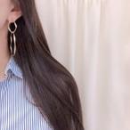 ソデリングピアス ピアス 韓国ファッション